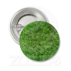 Customizable Green Moss Covered Small Round Button on sale at www.zazzle.com/misseysphotography* or click on the picture to take you directly to the product.