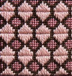 Stitch 43 - Framed Hexagons