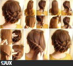 Simple Hair tutorial10