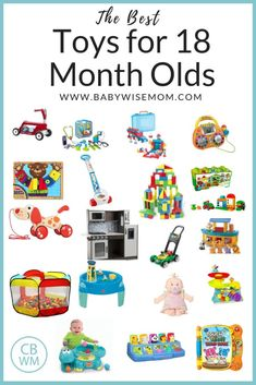 The Best Toys For 12 18 Month Olds Top 25 Picks Gifts