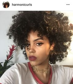 Harmoni curls natural curly Afro hair