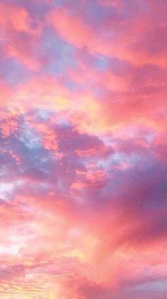 Pink Clouds Wallpaper, Homescreen Wallpaper, Iphone Background Wallpaper, Galaxy Wallpaper, Background Images, Aesthetic Pastel Wallpaper, Aesthetic Backgrounds, Aesthetic Wallpapers, Wallpaper Backgrounds