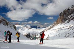 Tributo @MutoPio: la Val di Fassa con gli sci. - #Trentino