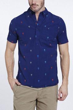 Dobby Popover Shirt