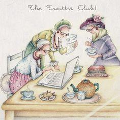 Cards » The Twitter Club » The Twitter Club - Berni Parker Designs