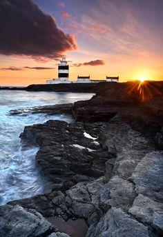 Hook Lighthouse - Wexford, Ireland (c. 13th century)