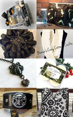 Black and White Beauty! by Gail Thornton on Etsy--Pinned with TreasuryPin.com