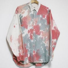 REPLAY PAINTED DESIGN COTTON SHIRT Size: XXL Made in ITALY