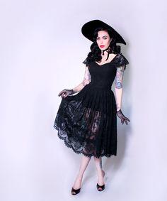 PRE-ORDER  Southern Gothic Skirt  La Femme en by LaFemmeenNoirCo