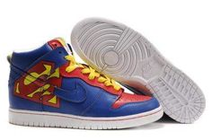 timeless design d599f fb27a Nike Dunk High Premium ID Fall 08 Supper Blue Yellow Red