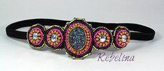 Gypsy Princess Headband by RebelinaShop on Etsy https://www.etsy.com/listing/219309889/gypsy-princess-headband