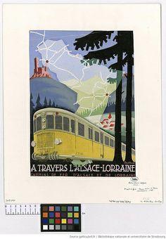 Chemins de fer d'Alsace et de Lorraine, A. Rollhaus, 1938