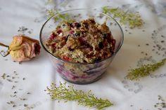 Gudrun's daily kitchen - ein österreichischer Foodblog: Beerenauflauf mit… Rib Sauce, Gudrun, Homemade Food, Sauce Recipes, Guacamole, Casserole, Berries, Dinner Recipes, Ethnic Recipes