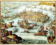 Venetian Conquest of Nafplion. Conquest of Turks in Nafplion (Nafplio) by Venetian army led by Francesco Morosini in A detailed map picture of the battle of Napoli di Romania (Nafplion, Greece). Map Pictures, The Turk, Historical Maps, Antique Prints, Argos, Old And New, Ebay, History, Antiques