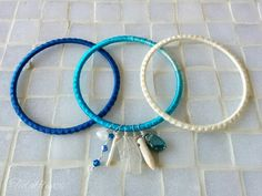 NEW *GypSEA* bangle sets are now available on the site! Shop tidalfluxx.storenvy.com for more colors.