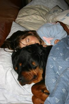 You never have to feel lonely at night, because he makes sure to snuggle right up to you. | 21 Signs Your Dog Is The Best Dog Ever