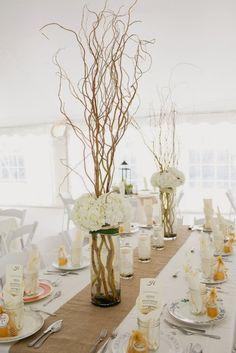 M s de 1000 ideas sobre centros de mesa de manzanita en - Centros de mesa con pinas secas ...