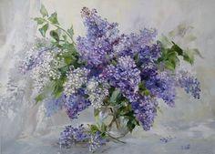 Oksana Kravchenko(b.1971) - Lilac,2011