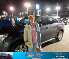 Happy Anniversary to Roberta Louia on your 2013 #Chevrolet #Equinox from Bradley Abell  and everyone at Crossroads Chevrolet Cadillac! #Anniversary