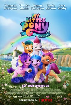 Click to View Extra Large Poster Image for My Little Pony: A New Generation Animated Movie Posters, My Little Pony Wallpaper, Internet Movies, Movies Online, Little Poney, Keys Art, Mlp Pony, My Little Pony Friendship, Make New Friends