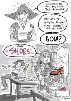 DAI - Helpful Cole by aimo on DeviantArt  Because Shoes! And Cole is so cute in that cutscene in game