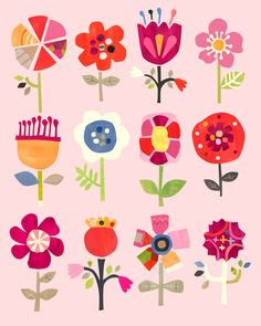 """""""Where flowers bloom so does hope""""- Lady Bird Johnson.  These pretty pink flowers bloom year round. A lovely addition to any space!  This is a limited edition print of only 200."""