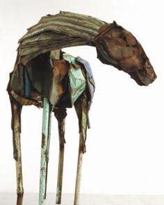 Deborah Butterfield: Deborah Kay Butterfield (born May is an American… Horse Sculpture, Animal Sculptures, 3d Fantasy, Found Object Art, Assemblage Art, Equine Art, Recycled Art, Horse Art, Pablo Picasso
