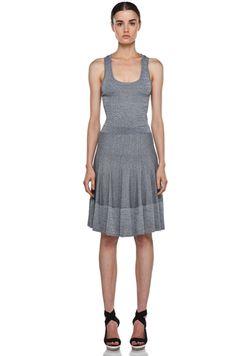 A.L.C.  Ariana Dress in Heather Black