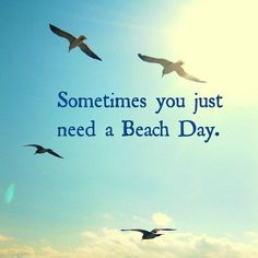 Sometimes you just need a Beach Day. Fill up that tank and head to the beautiful City of Del Mar. Enjoy a day relaxing at the beach, grab a bite with an ocean view and shop along the coast. Life Quotes Love, Great Quotes, Quotes To Live By, Inspirational Quotes, Crush Quotes, Quotes Quotes, Qoutes, Motivational, Affirmations