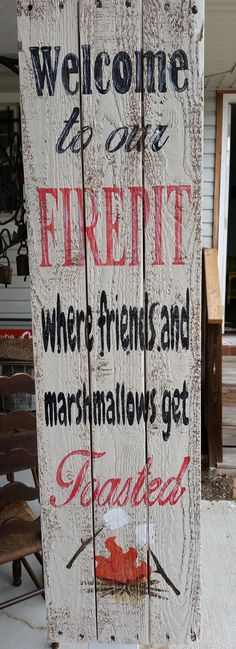 Wood Pallet Signs
