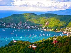 View of Hamilton Bay,  Bequia St Vincent and the Grenadines Barbados, Jamaica, Bequia, Bora Bora, Iles Grenadines, Places To Travel, Places To Visit, Puerto Rico, Dreams