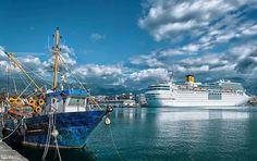 Λιμάνι Καλαμάτας Sailing Ships, Greece, Places To Visit, Boat, Natural, Pictures, Beautiful, Boats, Greece Country