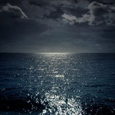 where heaven and earth meet. I could stare at the moon over the ocean for the rest of my life.