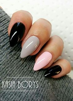 Semi-permanent varnish, false nails, patches: which manicure to choose? - My Nails Fancy Nails, Trendy Nails, Pink Nails, My Nails, Cute Acrylic Nails, Acrylic Nail Designs, Nagel Stamping, Orange Nail Designs, Shellac Nails