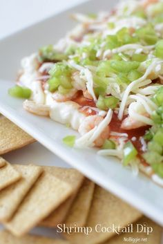 Shrimp Cocktail Dip - a great appetizer to bring to your next party.