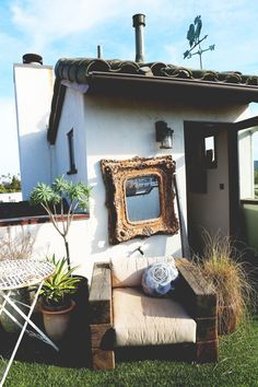 Inside Erin Wasson's Venice Beach Home. #interiordesign #interiordecorating #bohemian