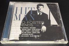 Hit Man David Foster Friends by David Foster CD DVD 2008 2 Discs | eBay