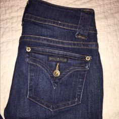 Hudson jeans Worn a few times! In perfect condition. These are the regular boot cut style! Medium-dark wash. Hudson Jeans Jeans Boot Cut