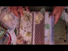 ▶ Scrapbooking Prima How-To Make a Super Cute & Fast Journal.m4v - YouTube