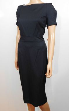 Ann Klein New York Wool Blend Sheath Dress Size 12 $350 #AnnKleinNewYork #WeartoWork