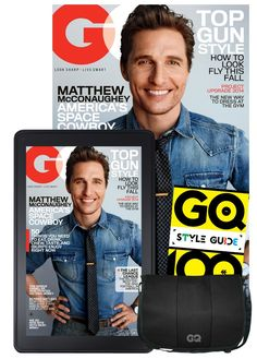 GQ All Access + Free Messenger Bag & Digital Style Guide: Amazon.com: Magazines