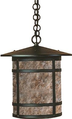 Arroyo Craftsman BH-11LAM-BZ Berkeley Collection 1-Light Exterior Hanging Lantern, Bronze Finish with Almond Mica Panels by Arroyo Craftsman. $434.00. From the Manufacturer                Arroyo Craftsman BH-11LAM-BZ Berkeley Collection 1-Light Hanging Lantern features a Bronze finish complemented by Almond Mica panels in a simple Craftsman design that will sure to enhance any decor for many years to come with the superior craftsmanship. Hang over a covered po...