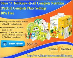 Get the Complete Kids Kit: The Show 'N Tell Know-It-All Complete #Nutrition Pack is not just another set of child-friendly #dinnerware; it's a tool to equip kids with a lifetime of #healthy eating #habits.