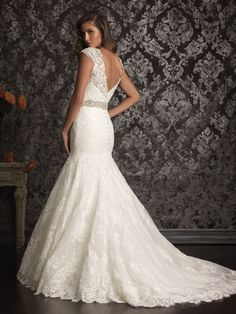 Allure Bridal 9010 on @Terry Costa