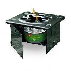 This folding stove is a great addition to your cooking repertoire. Combined with a canned fuel, you have an excellent emergency preparedness and camping stove, that can even be used indoors in a well-ventilated area. *Canned fuel not included Best Camping Stove, Camping Meals, Go Camping, Camping Hacks, Outdoor Camping, Camping Guide, Camping Checklist, Camping Cooking, Camping Trailers