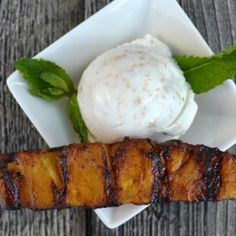 Grilled Pineapple with Cinnamon Coconut Sugar