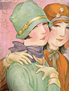 Intersections: Performing the Nation: Magazine Images of Women and Girls in the Illustrations of Takabatake Kashō, Japan Illustration, Illustration Art Nouveau, Graphic Illustration, Collage Vintage, Vintage Postcards, Vintage Prints, Female Images, Female Art, Quote Collage