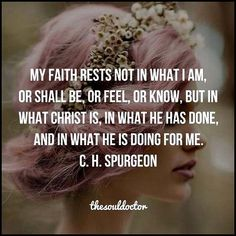 Know this, to understand the faith of the unseen. God is bigger. Jesus set us the example. Spirit show me the way! Life Quotes Love, Faith Quotes, Bible Quotes, Quotes To Live By, Devotional Quotes, Daily Devotional, Women Of Faith, Faith In God, God Is