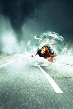 La fotografías fantástica de Julie De Waroquier - Antidepresivo