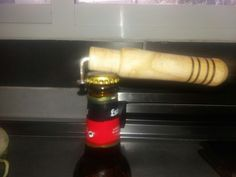 Abridor artesanal para cerveza